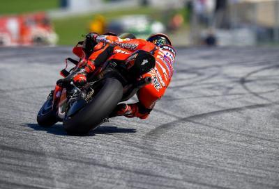 Bagnaia davanti alle Yamaha nelle FP3 del GP di Stiria