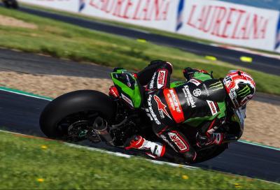 Rea firma la prima pole position della Superbike a Most