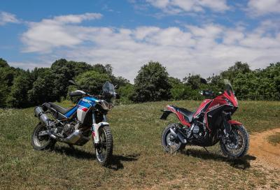 Aprilia Tuareg 660 vs Moto Morini X-Cape