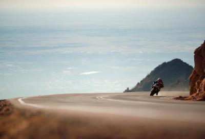Addio moto alla Pikes Peak, Aprilia nella storia