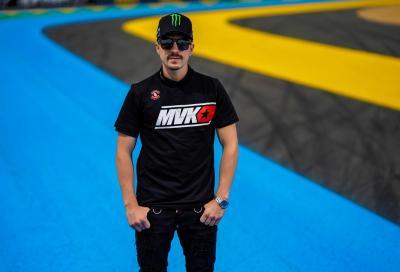 Maverick Viñales correrà con Aprilia nel 2022