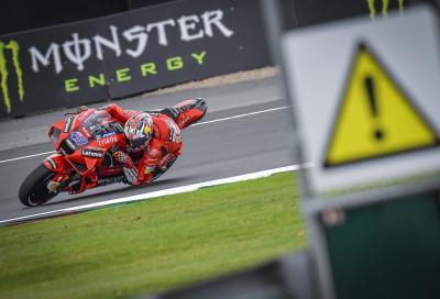 Ducati a Aprilia spiccano nelle FP3 di Silverstone