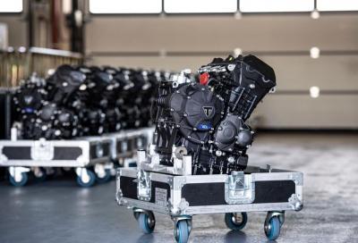 Triumph fornitore unico dei motori Moto2 per altri 3 anni