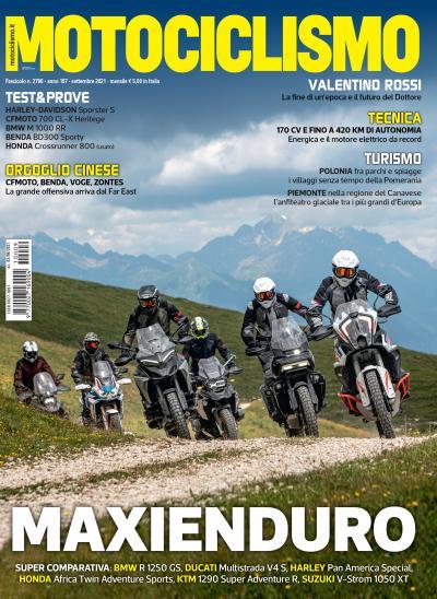 Motociclismo di settembre 2021 è in edicola
