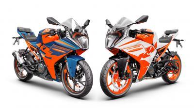 KTM presenta le nuove RC 390 e RC 125 2022