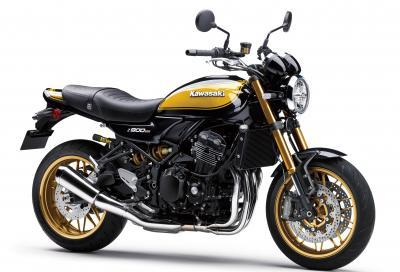 """Nuova Kawasaki Z900RS SE 2022: ciclistica rivista e livrea """"Yellow-ball"""""""