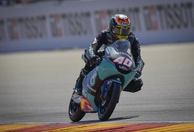 Moto3 2021, Alcaniz: la pole position va a Darryn Binder