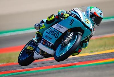 Moto3 2021, Alcaniz: Foggia vince al fotofinish su Öncü. Errori di Acosta e Garcia