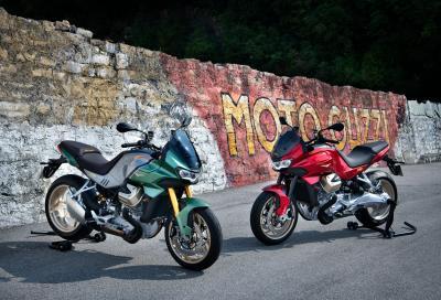 Ecco la nuova Moto Guzzi V100 Mandello 2022