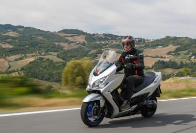 Nuovo Suzuki Burgman 400 2022: evoluzione controllata