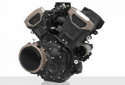 Benda presenta un nuovo motore V4 da 154 CV