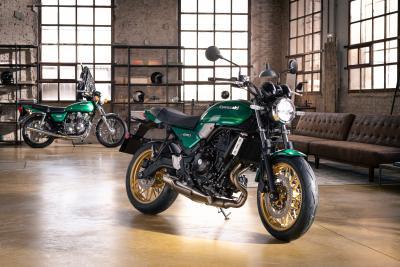 Kawasaki presenta la nuova Z650RS