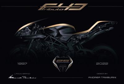Nuove Tamburini T01 e F43 Tributo, omaggio a MV Agusta Brutale e F4