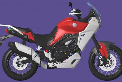 Benelli: una nuova adventure bike con V-Twin di 650 cc