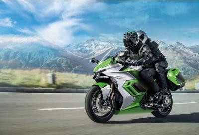 Moto a idrogeno, ibride ed elettriche nel futuro di Kawasaki