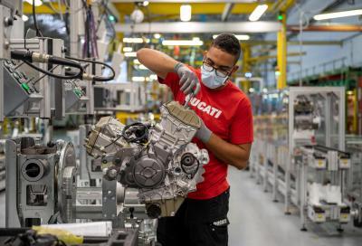 Riprendono i tour nella Fabbrica Ducati e le attività del Laboratorio Fisica in Moto
