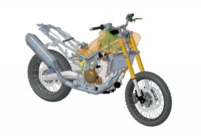 I segreti della ciclistica della nuova Aprilia Tuareg 660