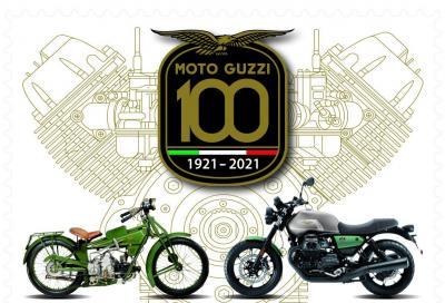 Arriva in Posta il francobollo celebrativo dei 100 anni di Moto Guzzi