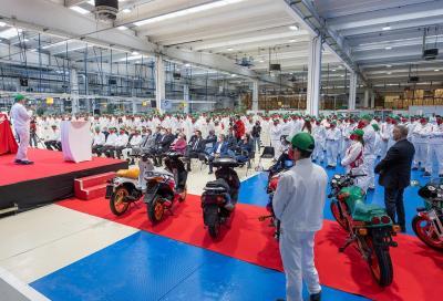 Honda Italia festeggia i 50 anni