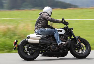 Harley-Davidson Sportster S, il test