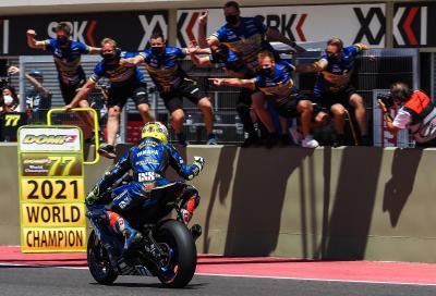 Dominique Aegerter regala a Yamaha il Mondiale Supersport