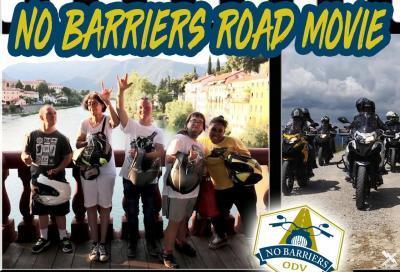 """""""No Barriers"""", la moto uno strumento terapeutico. Da Ciapa la moto il film"""