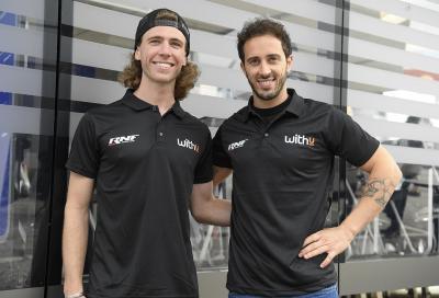 Dovizioso e D. Binder insieme nel Team WithU Yamaha RNF