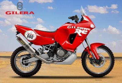 Gilera RC 660 Rally Concept