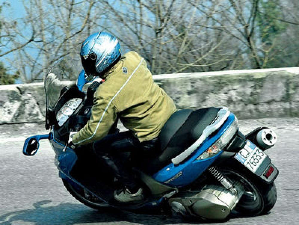 Kymco Xciting 500 - Motociclismo
