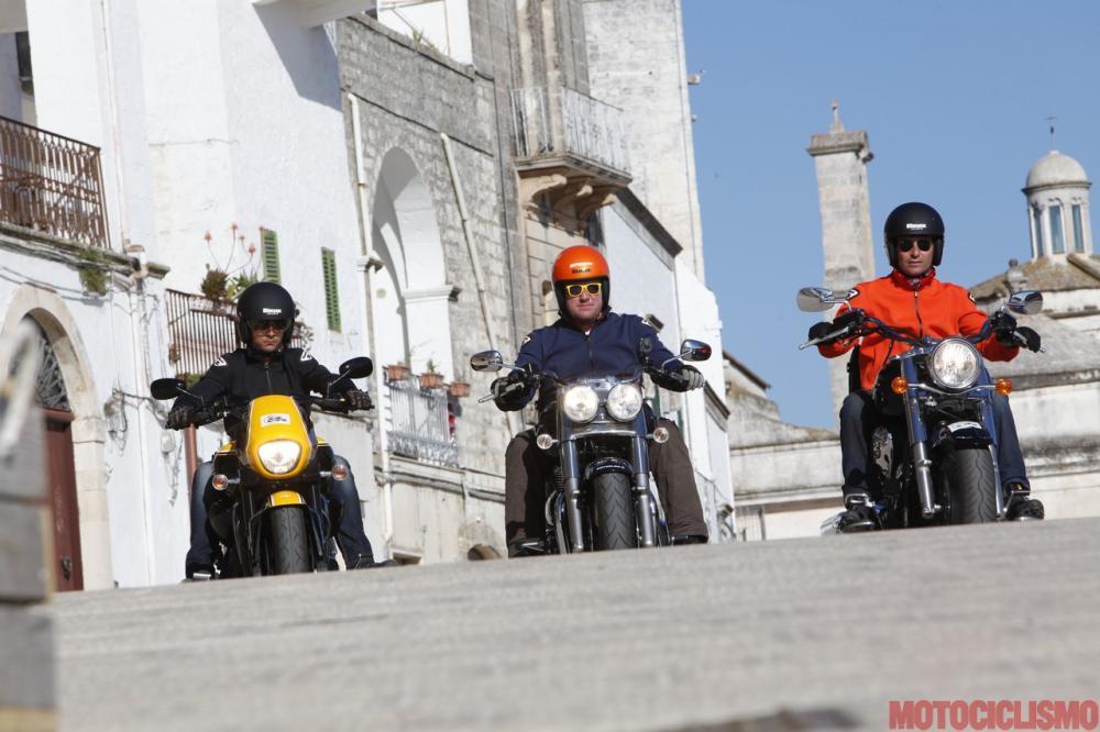 Suzuki, Triumph e Kawasaki a Cisternino (BR)