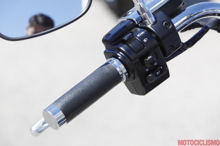 Kawasaki VN1700 Classic: blocchetto elettrico sinistro
