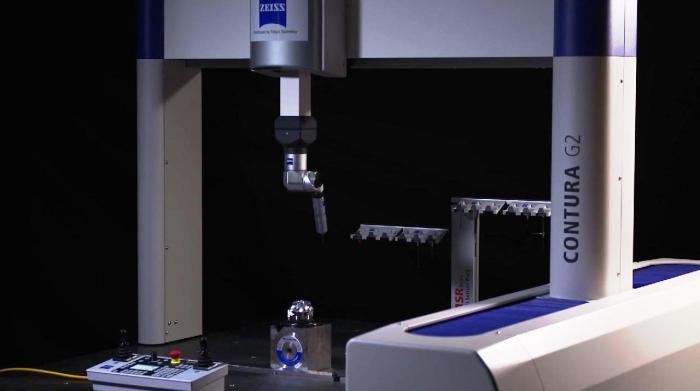 Misurazioni di precisione dopo la realizzazione della girante del compressore
