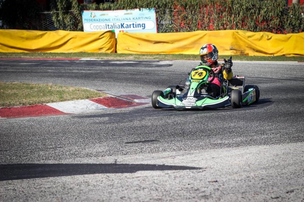 Daniele Parravano (pilota del Team Parravano corse)