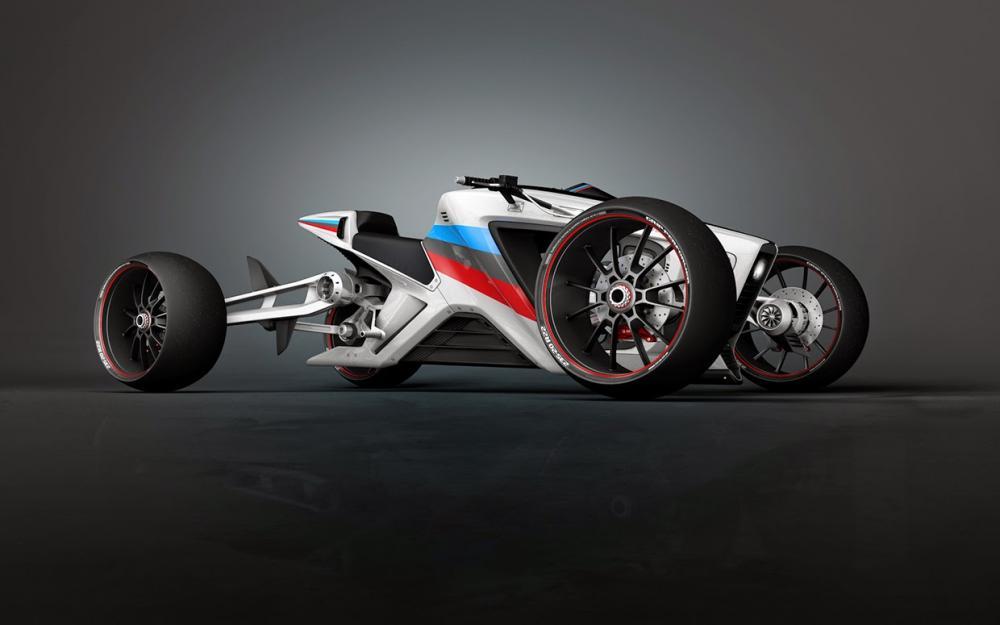 Roadcarver: concept tedesco di moto quattro ruote indipendenti e piehanti  Motociclismo