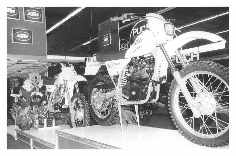 La storia del fuoristrada di KTM: 1982