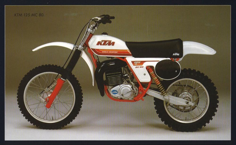 La storia del fuoristrada di KTM: 1980 (125 MC 80)