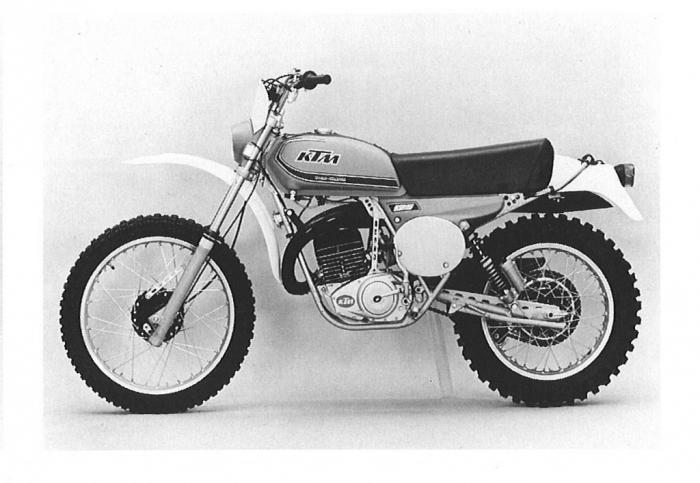 La storia del fuoristrada di KTM: 1977