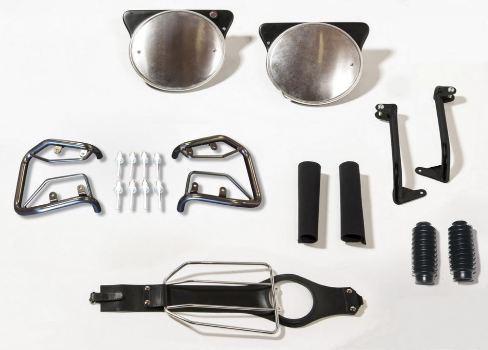 super speciali scarpe classiche comprare popolare Moto Guzzi: le foto del mini kit di accessori by 70tre ...