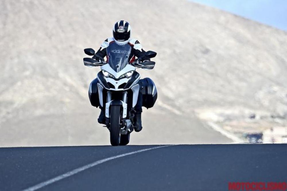 Comparativa Sport-Tourer 2016 di Motociclismo nelle Marche. Le sfidanti:  Ducati Multistrada 1200