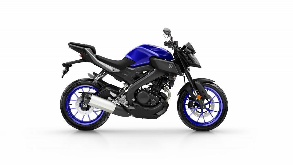 Yamaha MT-125 2017 nelle livrea Yamaha Blue