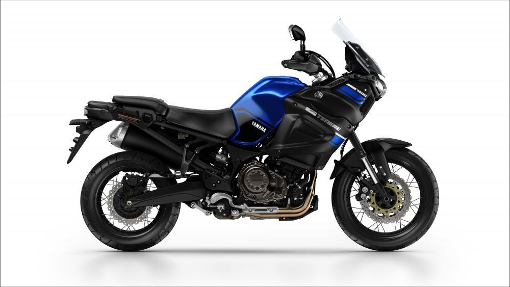 Yamaha XT1200Z nella livrea Yamaha Blue