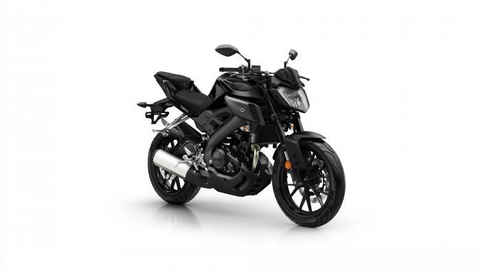 Yamaha MT-125 2017 nelle livrea Tech Black