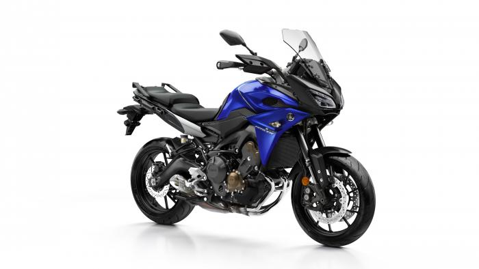 Yamaha Tracer 900 2017 nella livrea Yamaha Blue