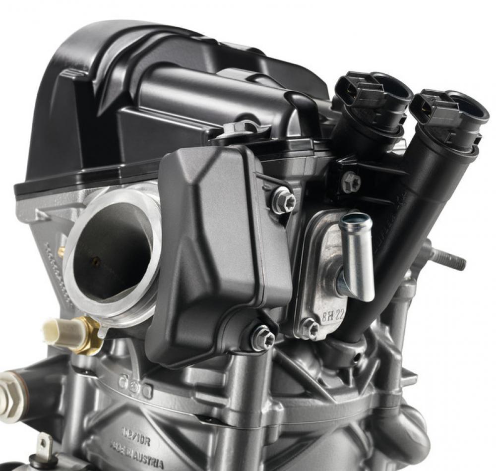 Il motore della Husqvarna 701 Enduro 2017