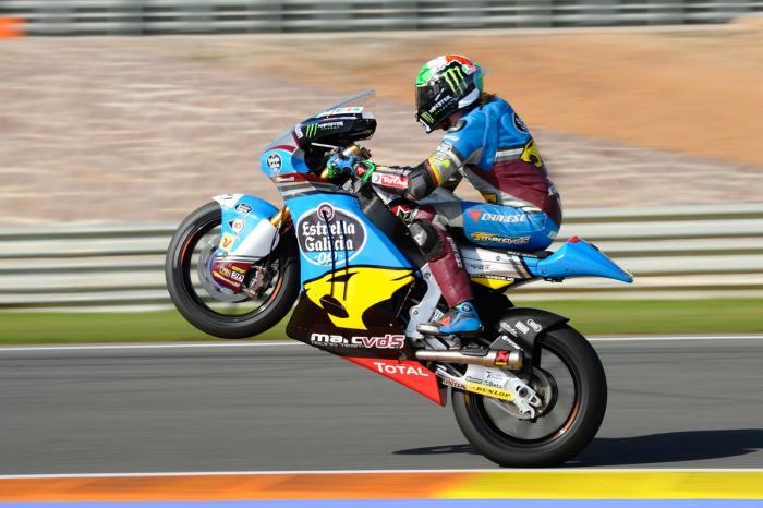 Moto2 2016, Valencia: gara. Franco Morbidelli