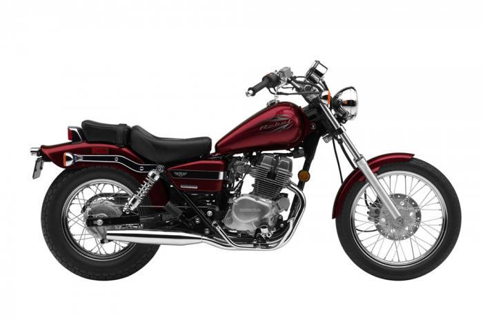 """La """"vecchia"""" Honda Rebel 250"""