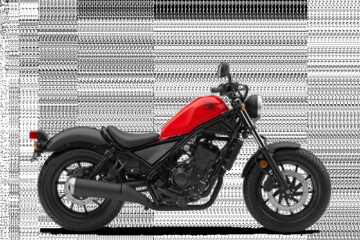 Honda CMX300 Rebel 2017 nella livrea Red Trans (NON IMPORTATA IN ITALIA)
