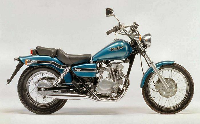 """La """"vecchia"""" Honda Rebel 125"""