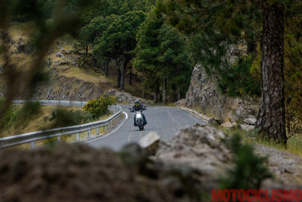 Viaggio in moto in Spagna: a Gran Canaria con la Ducati XDiavel. GC70: Riserva natural integral de Barranco Oscuro