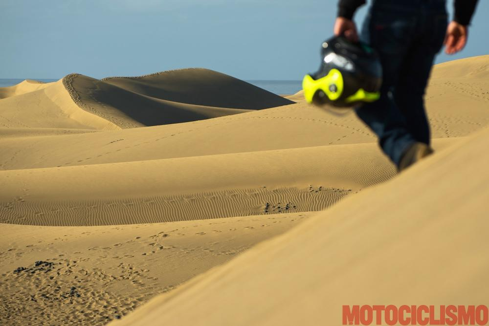 Viaggio in moto in Spagna: a Gran Canaria con la Ducati XDiavel. Dunas de Maspalomas